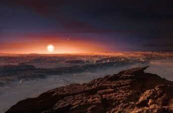 The artificial light emitted from Proxima B may be detectable with the James Webb Space Telescope