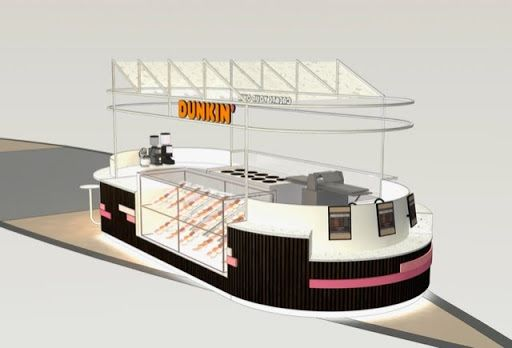 Dunkin's second opening at Westfield Mall of the Netherlands