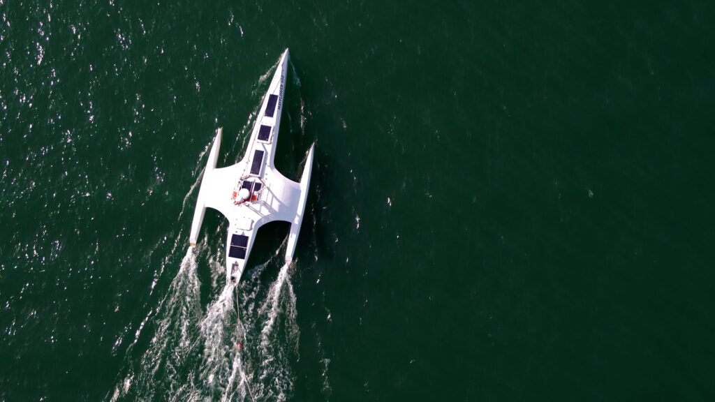 Ai Captain!  The self-steering ship Mayflower is ready to cross the Atlantic