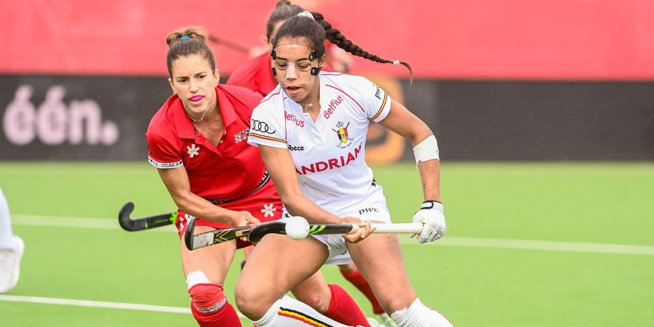 A new victory for the Red Panthers (6-1) against the United States in Antwerp