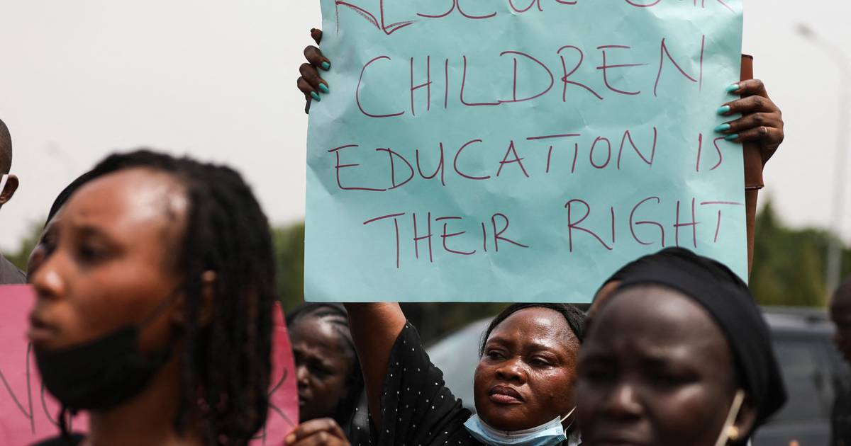 Another large group of children kidnapped from school in Nigeria |  abroad