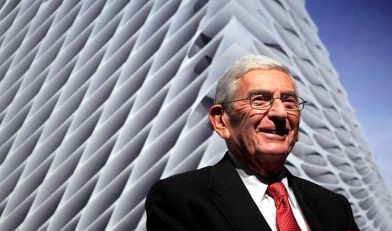 Billionaire and philanthropist Eli Broad wanted to die poor
