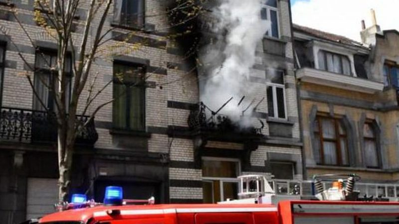 Children killed in heavy house fire in Brussels |  abroad