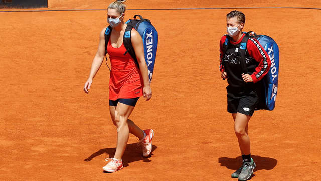 Chores and Dabrowski lose the Madrid Open |  Final 1st Limburg