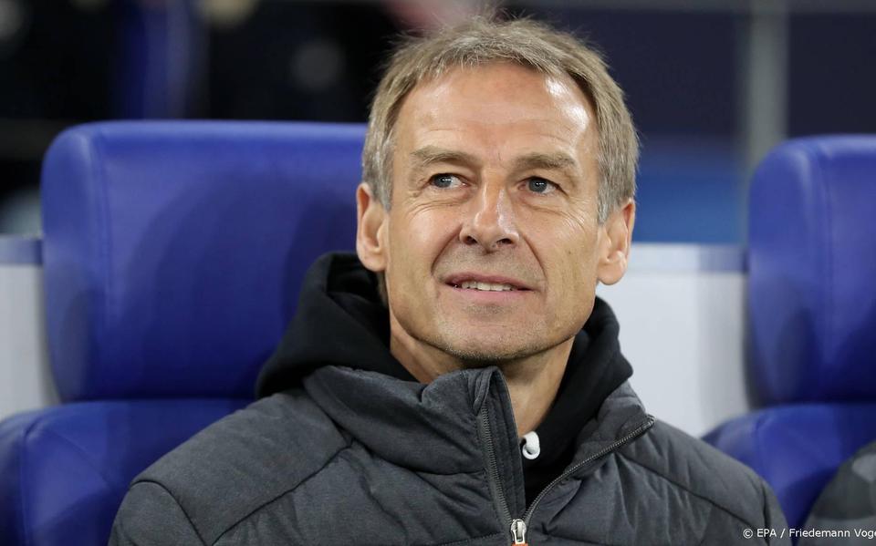 Coach Klinsmann is hungry for Tottenham