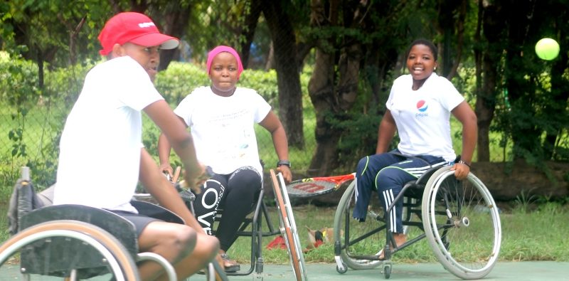 Company to support the promotion of wheelchair tennis