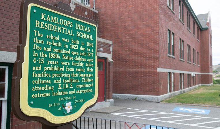 Dead children of local aborigines were found at a Canadian boarding school