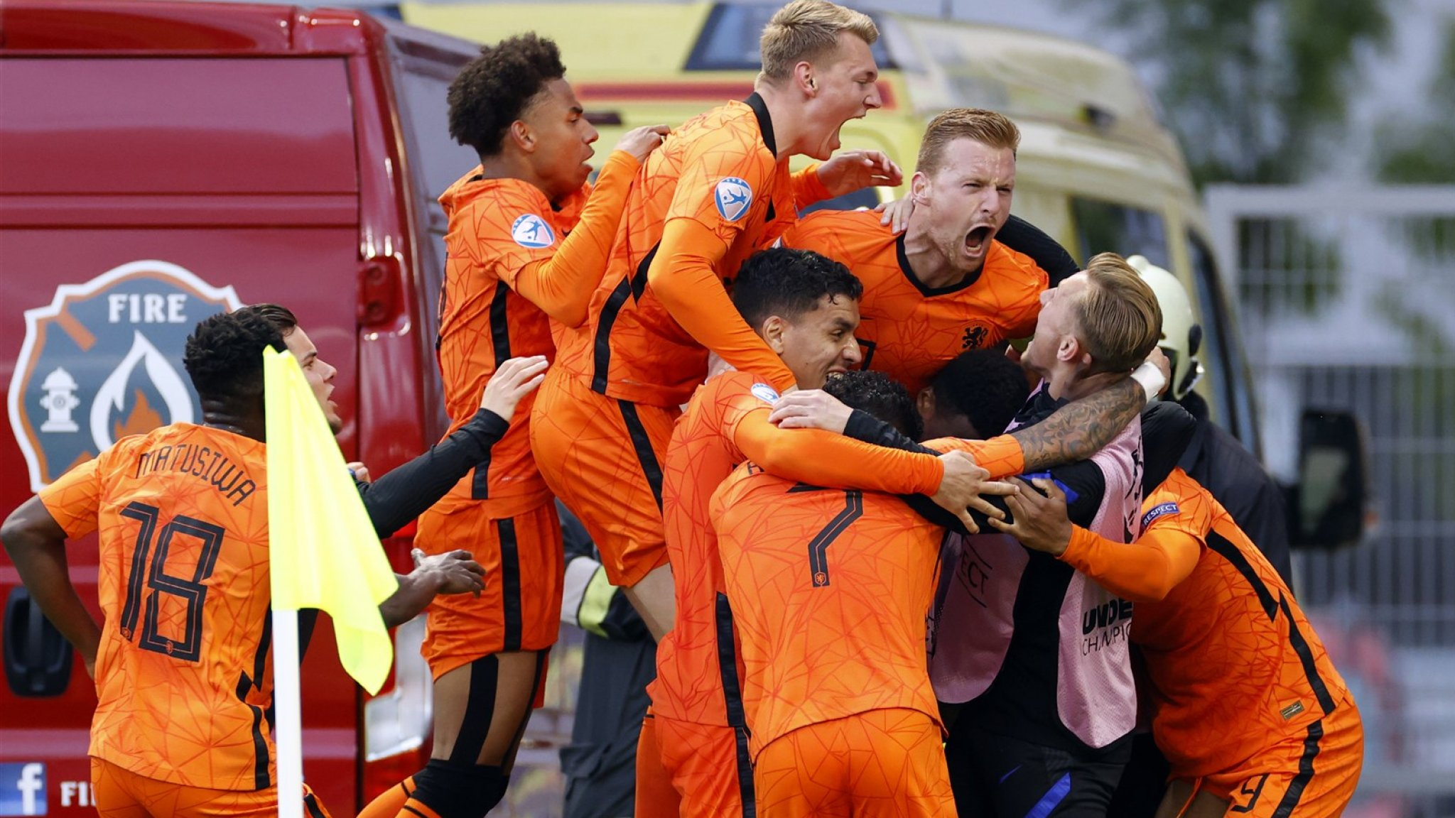 Dutch juniors qualify for the semi-finals of the European Championship after a surprise victory over France