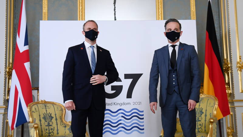 "G7 ministers criticize ""evil"" Russia and ""authoritarian"" China"