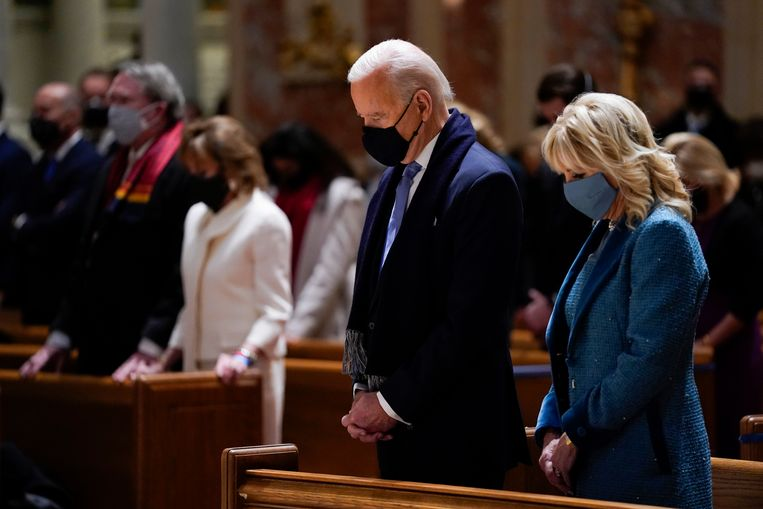 Is it possible to refuse handling Joe Biden?  There is a disagreement about this in the Catholic Church