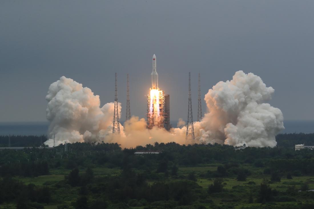 Latest prediction: Chinese missile crashes on Sunday morning …