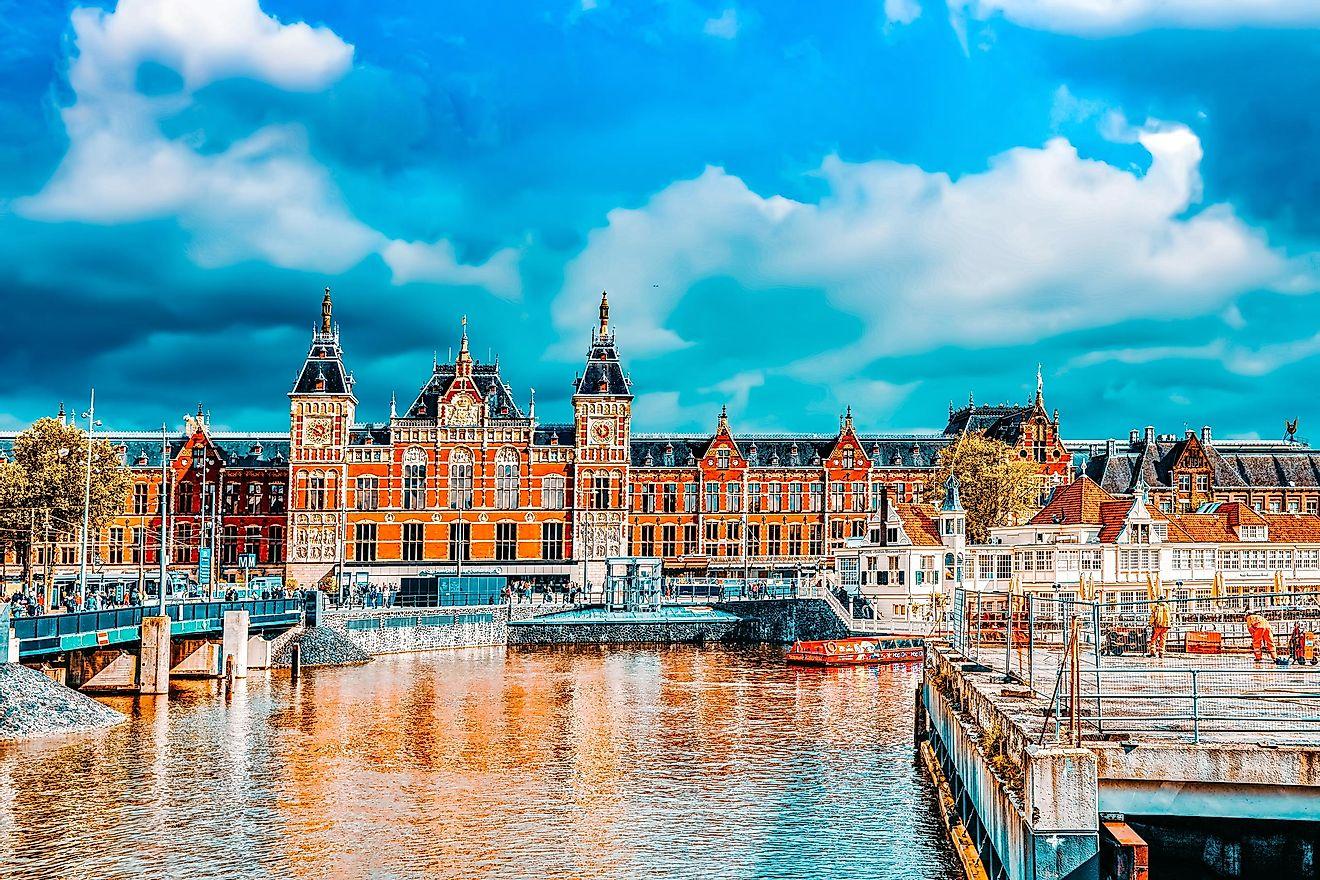 Netherlands – World Atlas