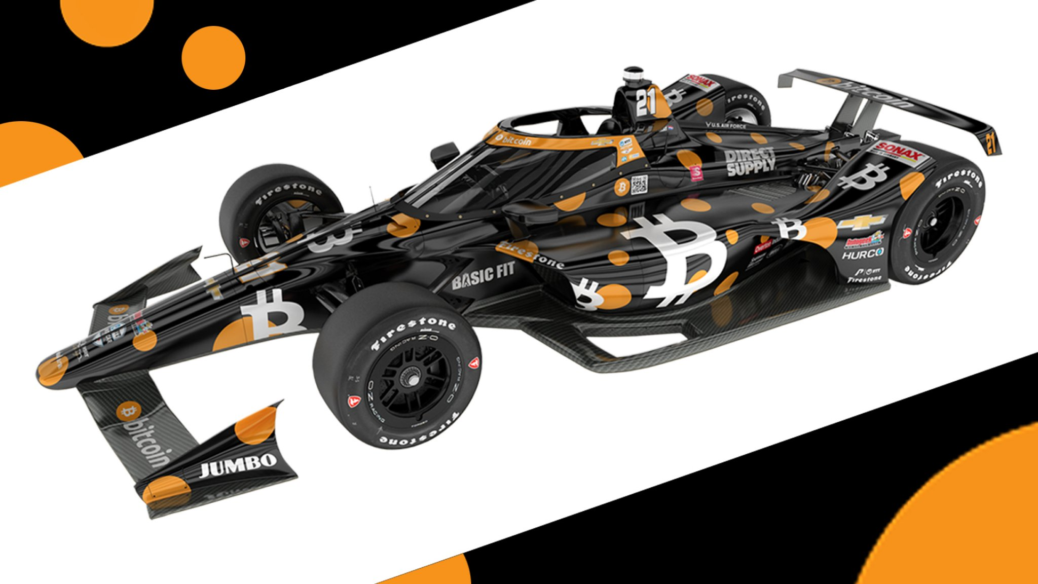 New colors for the fan like the match in the Indy 500