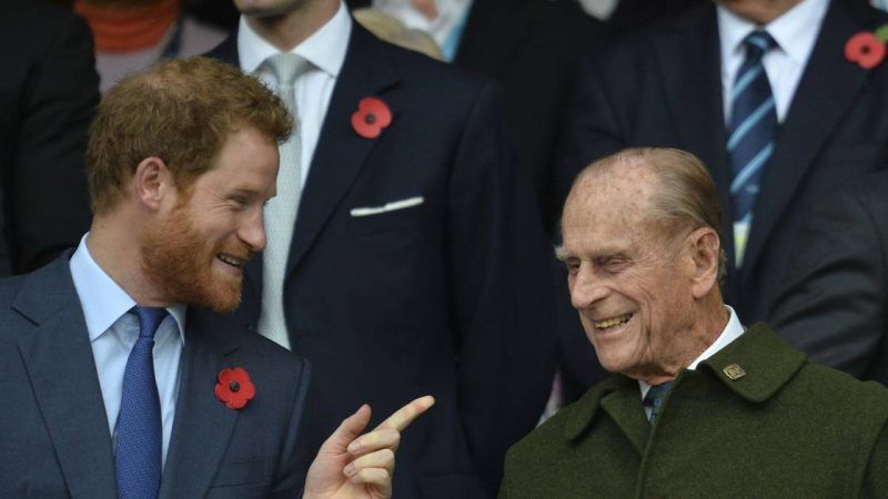 Prince Harry is back in the UK |  Turns out