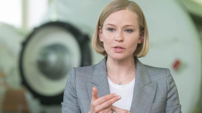 """Russia sends actress and camera crew to the International Space Station to produce first """"space movie"""" 