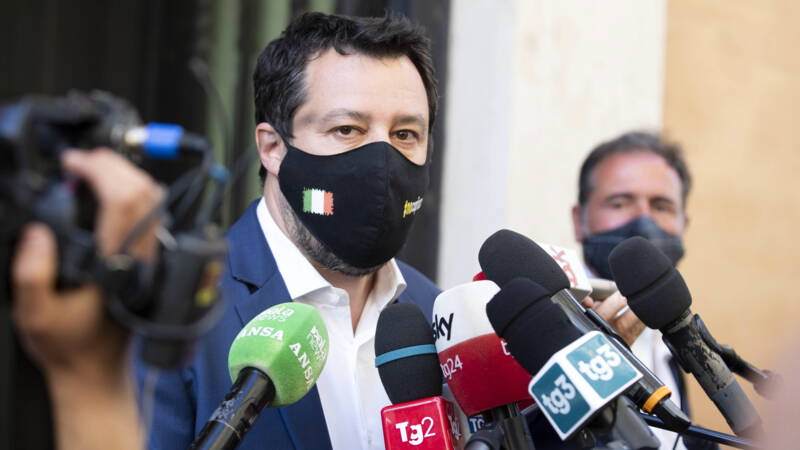 Salvini was not prosecuted for stopping a ship carrying migrants