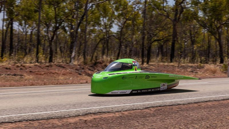 Solar Car Top Dutch Solar Racing launches in Morocco