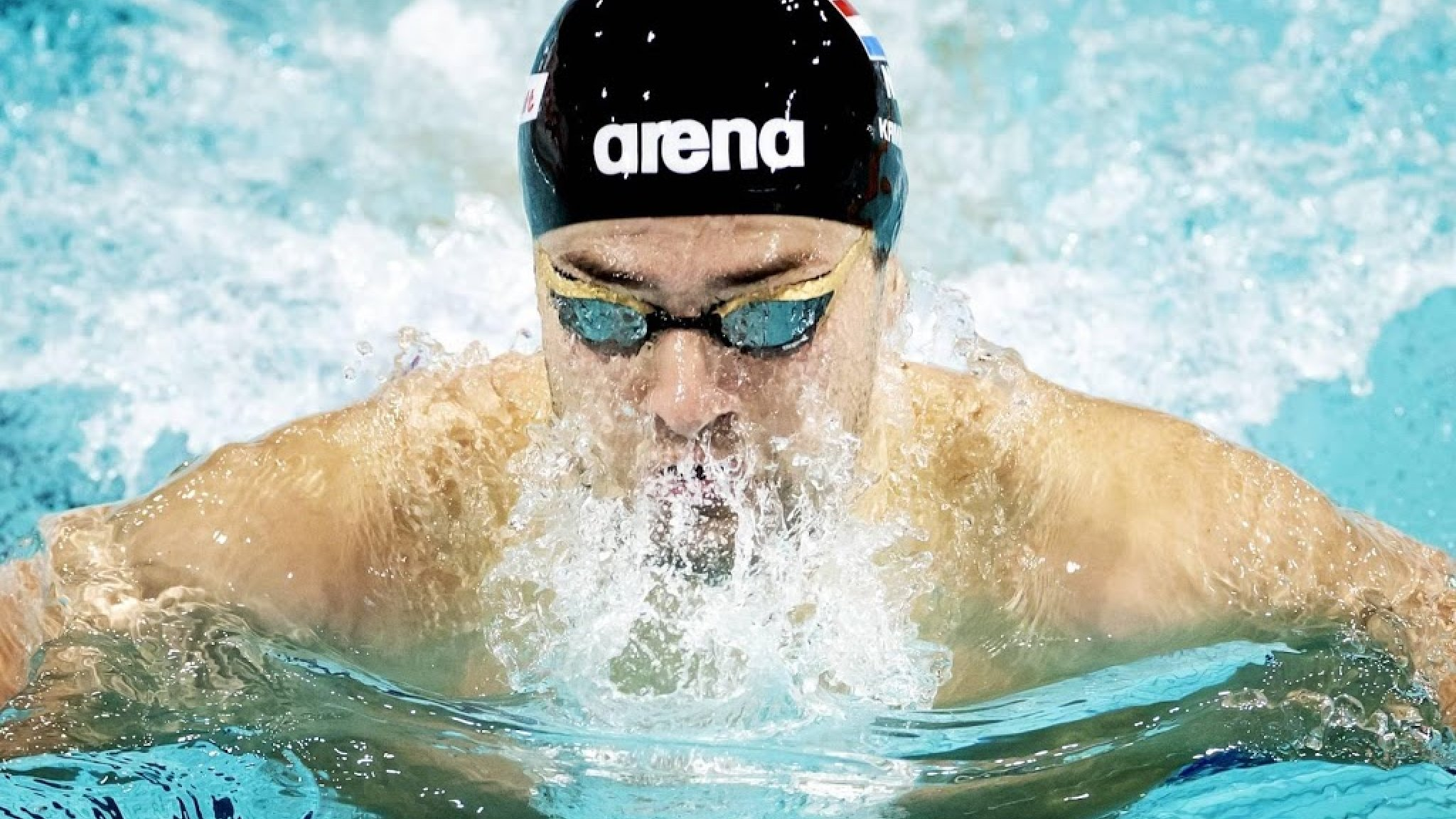 Swimmer Kaminga won the silver behind Betty at the European Championships