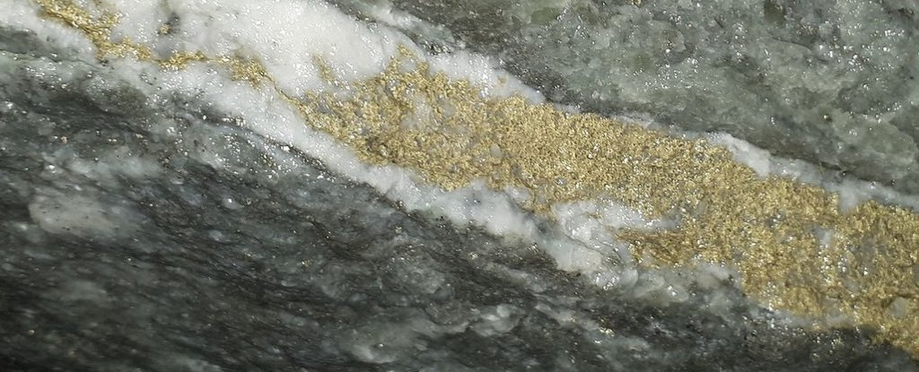 The problem of highly opaque veins formation in gold can finally be solved