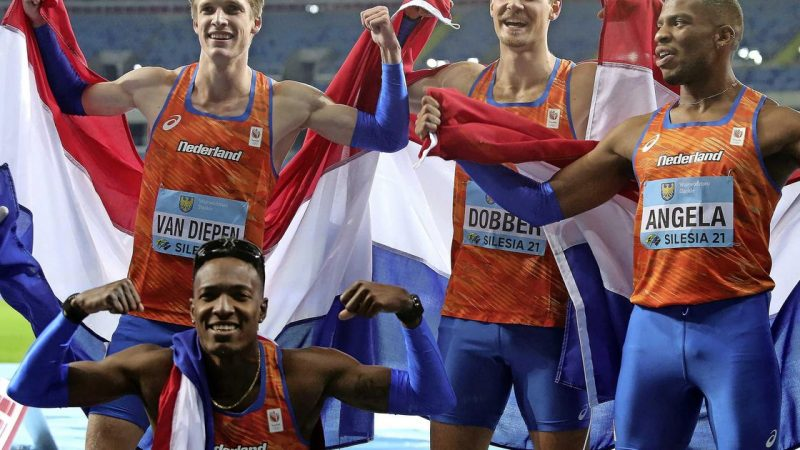 Unique gold medal in the World Cup for Dutch athletes 4x400 meters |  sport