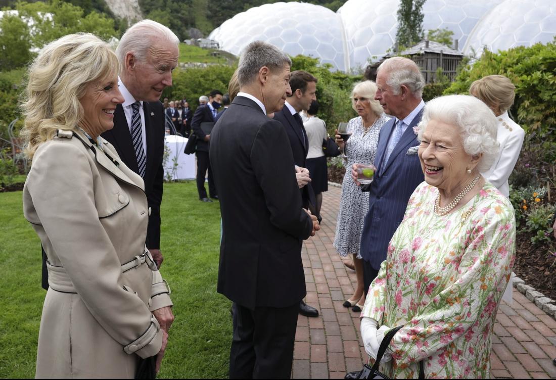 The British Queen met 13 US presidents