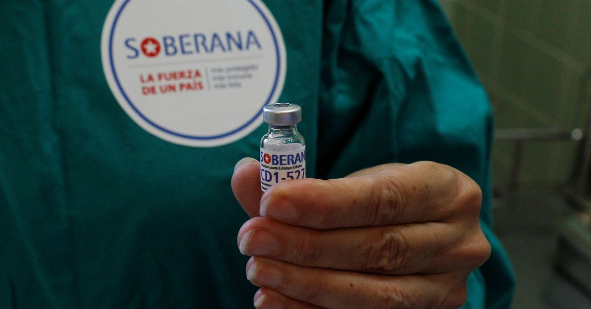 Cuba encouraged early efficacy results for domestic COVID-19 vaccineاح