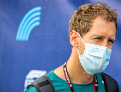 "Sebastian Vettel dancing in the rain in Austria: ""Lack of speed in corners and lanes"""