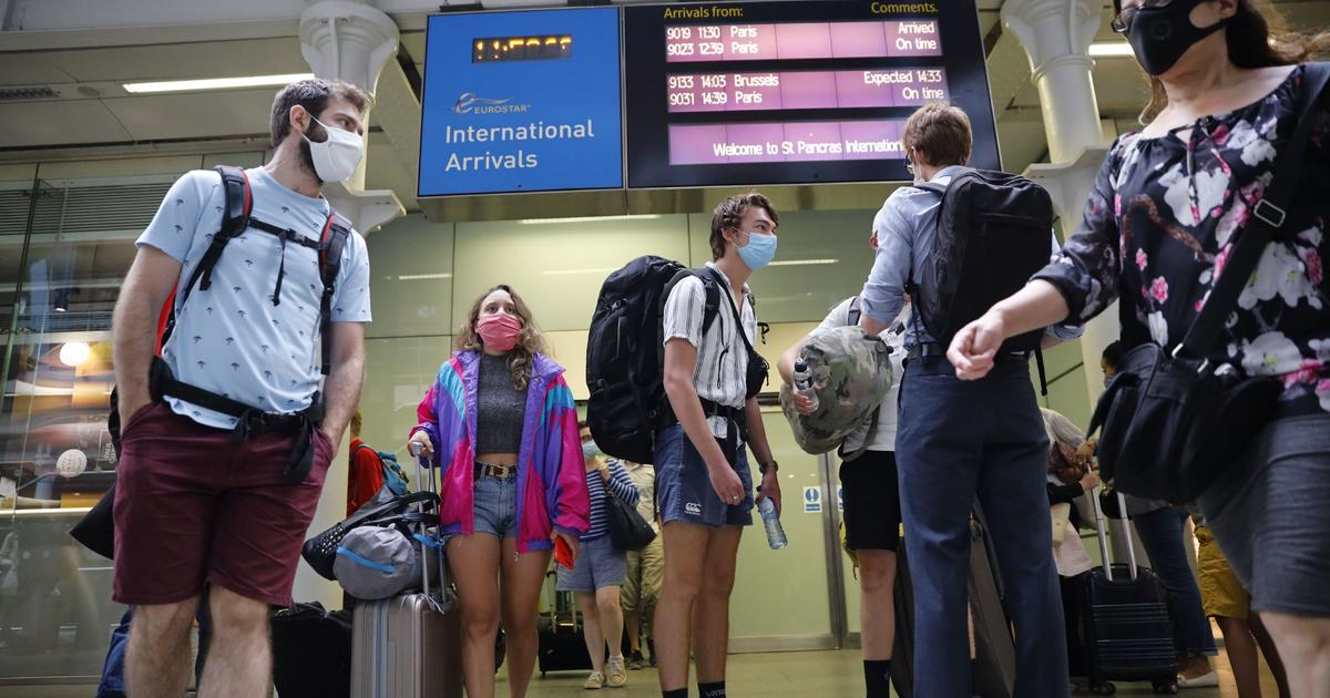 American tourists make summer travel plans in Europe.  But many Europeans working in the United States are still unable to return home