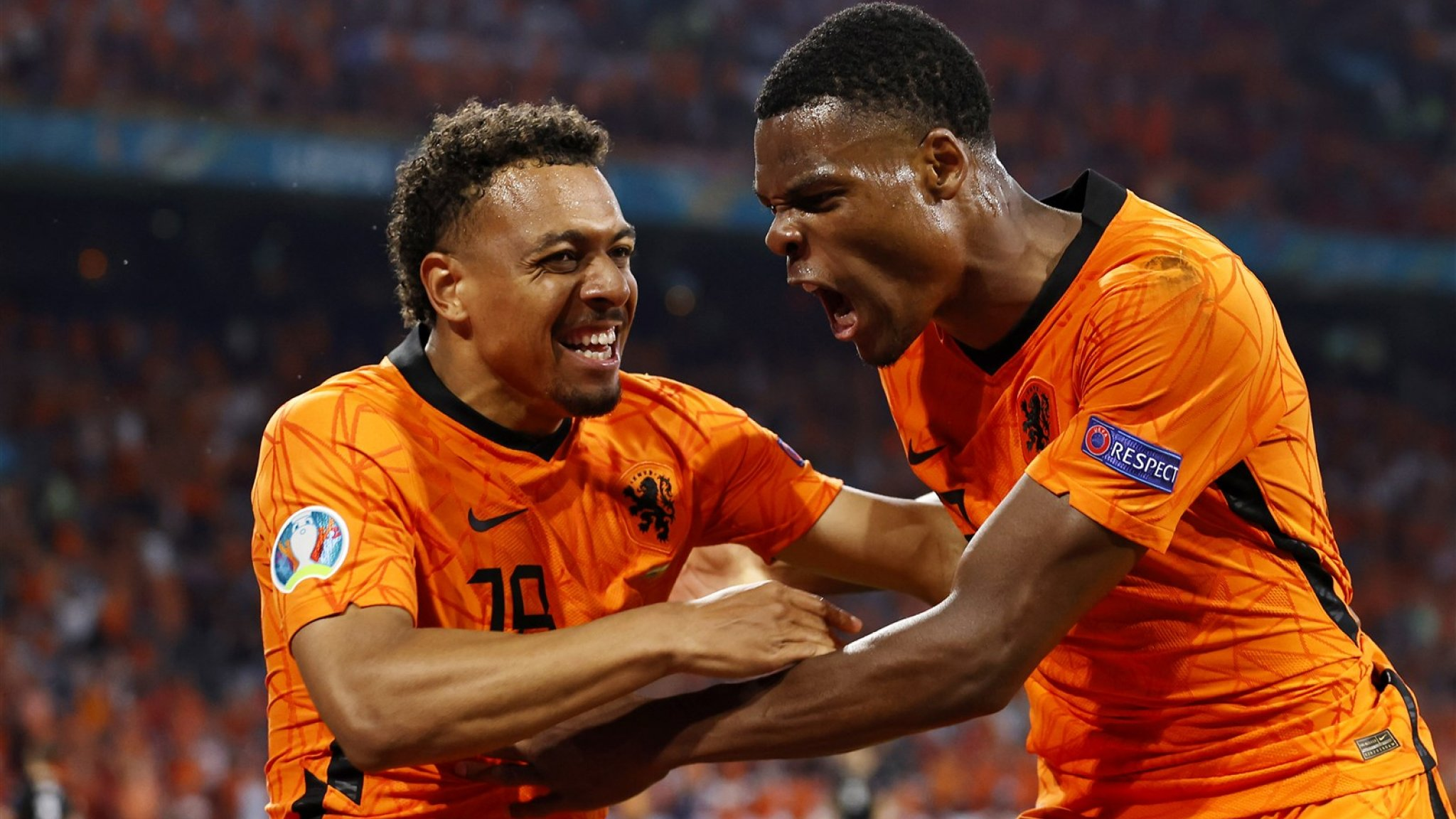 And that's two!  Orange is stronger than Austria, as the group won the eighth final