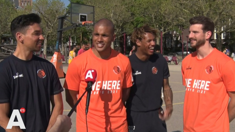Basketball players in Amsterdam are looking forward to their debut at the games: 'The golden chip is one hundred percent possible'