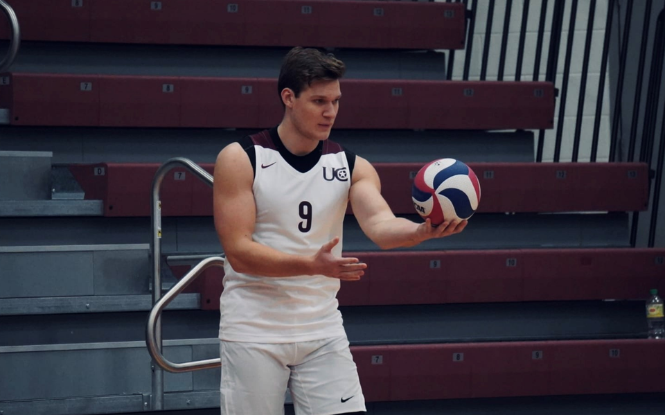 """Brabant Maarten Bartels will play volleyball for the next two seasons as a lane runner at Lycurgus in Groningen.  """"The desire to win is part of my genes"""""""
