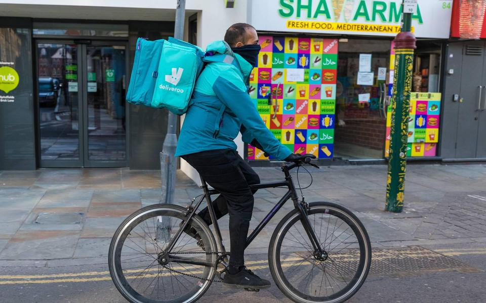 British delivery providers are independent entrepreneurs