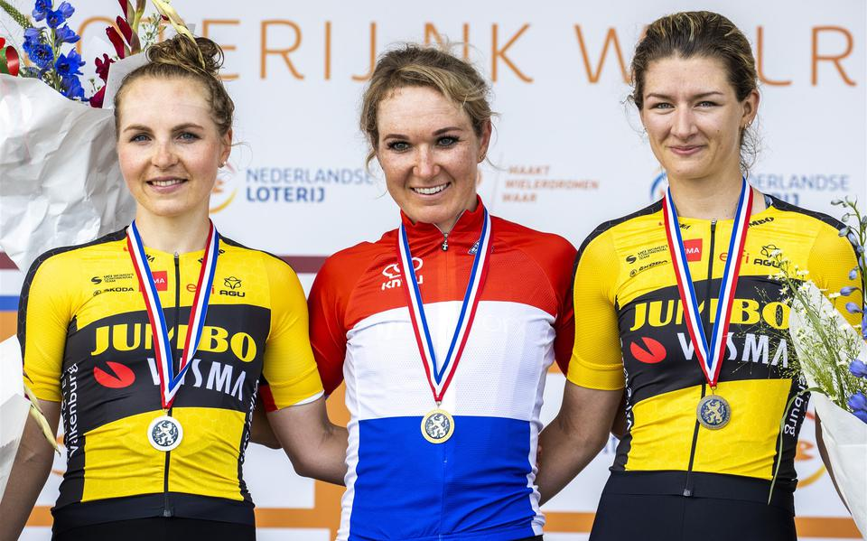 Cyclist Amy Peters is 'finally' the Dutch champion