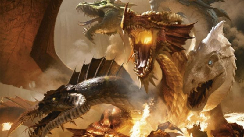 Dungeons and Dragons pictures reveal swords and a castle