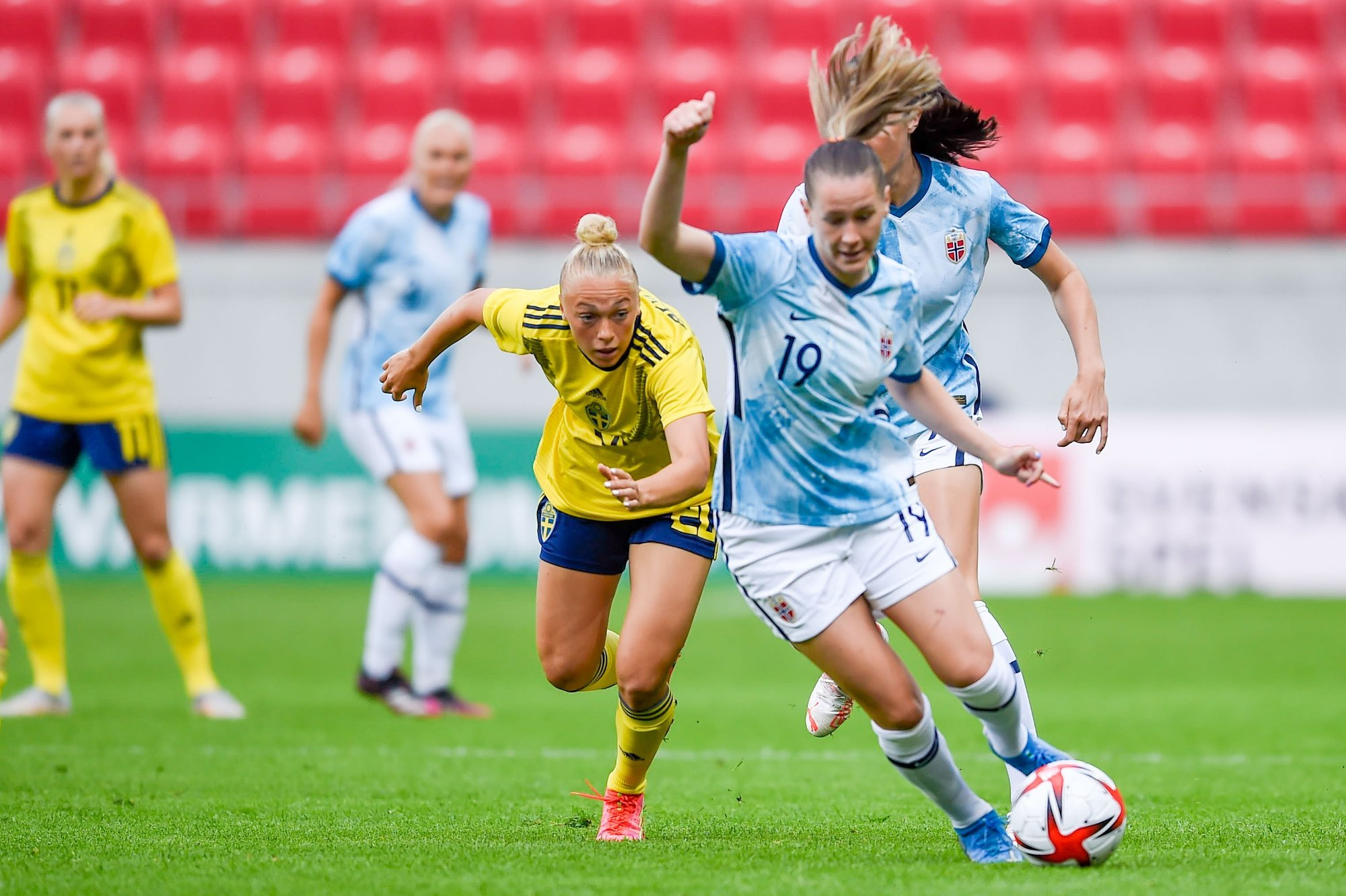 Football, Sports |  Norway lost to Sweden without a triple star: