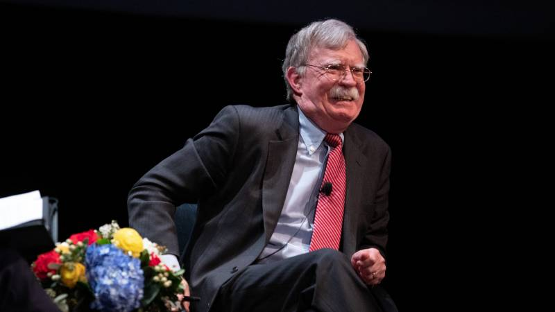 Former security advisor Bolton no longer on trial for his book