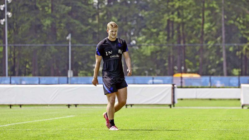 Orange starts the European Championship without Matthijs de Ligt    European Football Championship