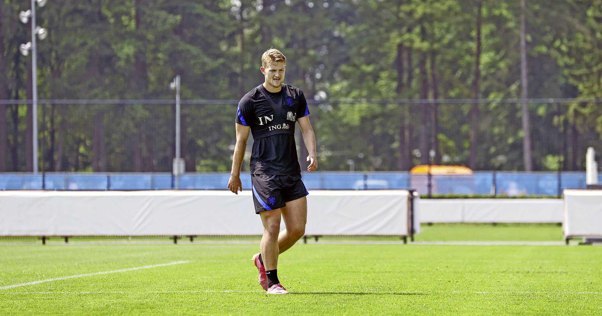 Orange starts the European Championship without Matthijs de Ligt |  European Football Championship