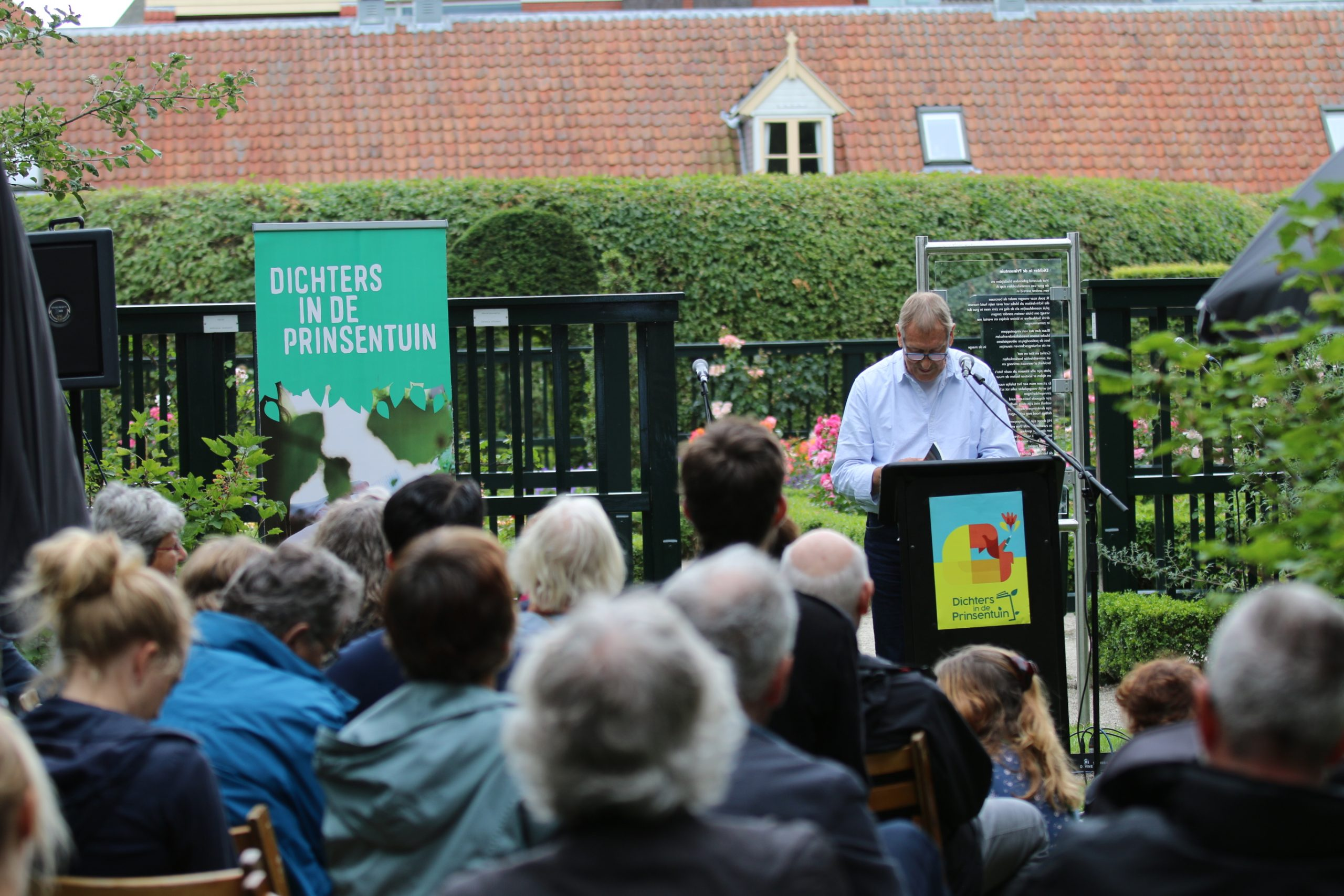 Poets in Prinsentuin will move to Hortus this year