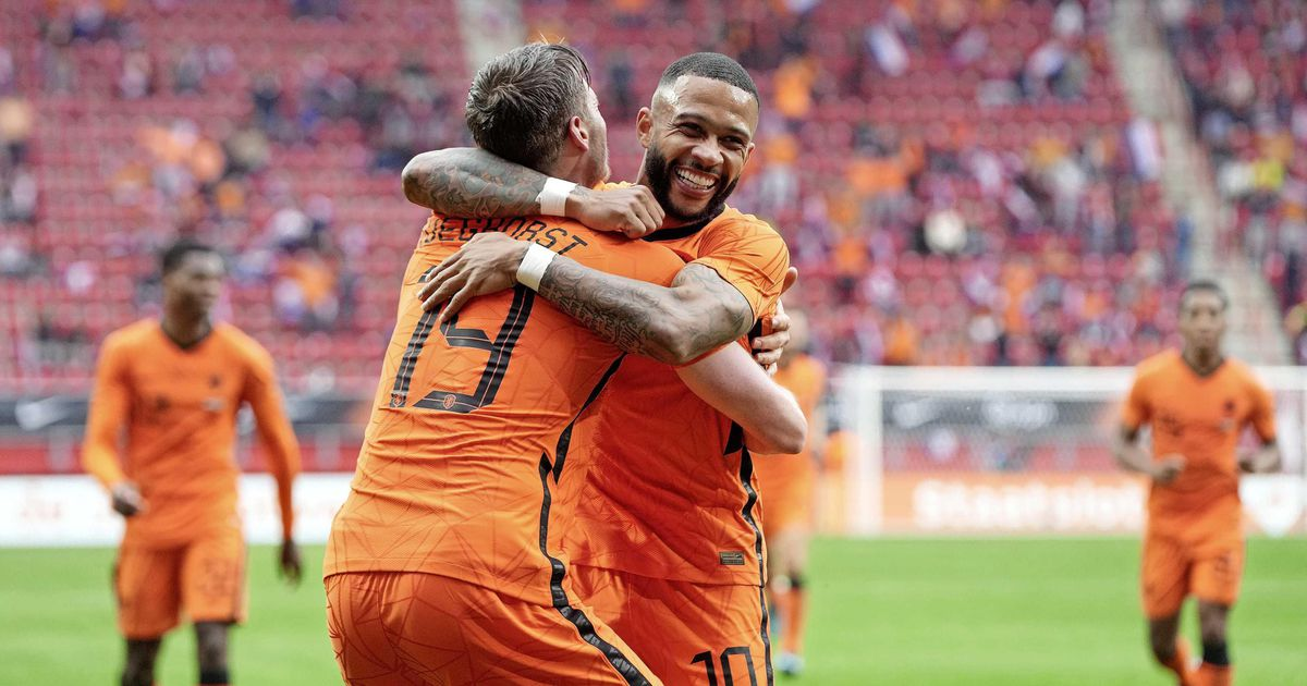 The Dutch national team achieves a big victory in the European Championship |  European Football Championship