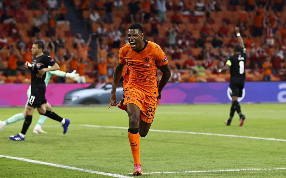 The Netherlands beat Austria to qualify as the group winner for the eighth finals of the European Championship