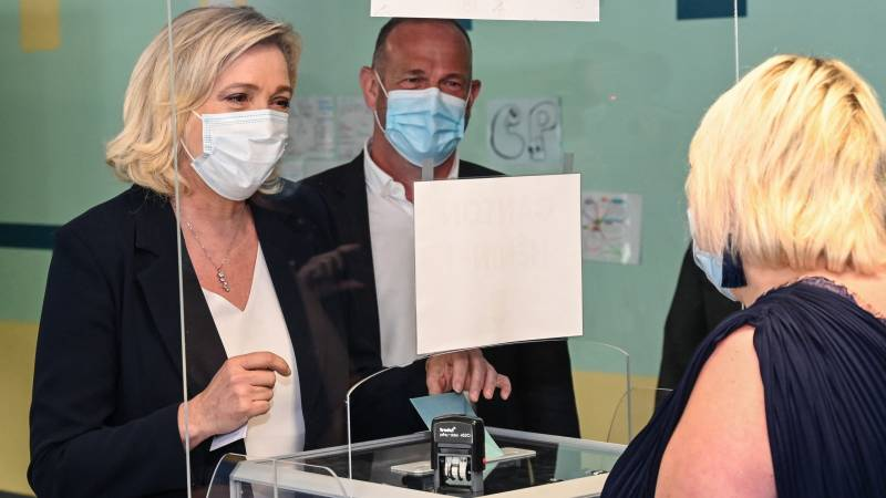 The big traditional right in the regional elections in France