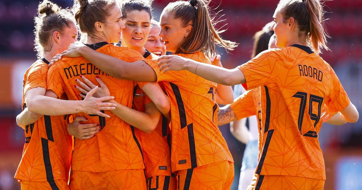 The farewell match of the lionesses in Zwolle: for the first time in front of the full stands |  sport