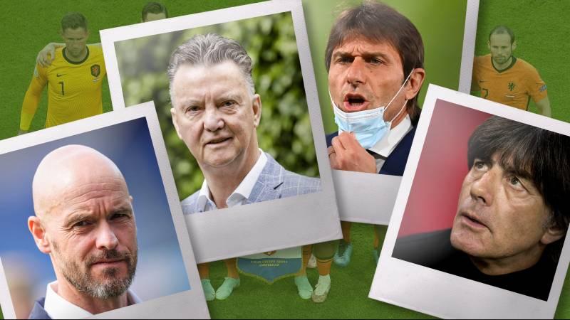 The great quest has begun: Van Gaal, Ten Hag, Conte… or still Lo?