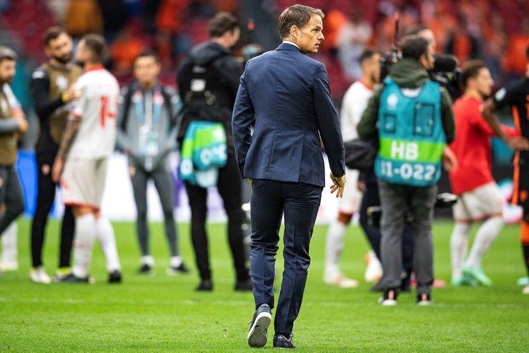 This Dutch team would love to be sent, but De Boer lacks word talent