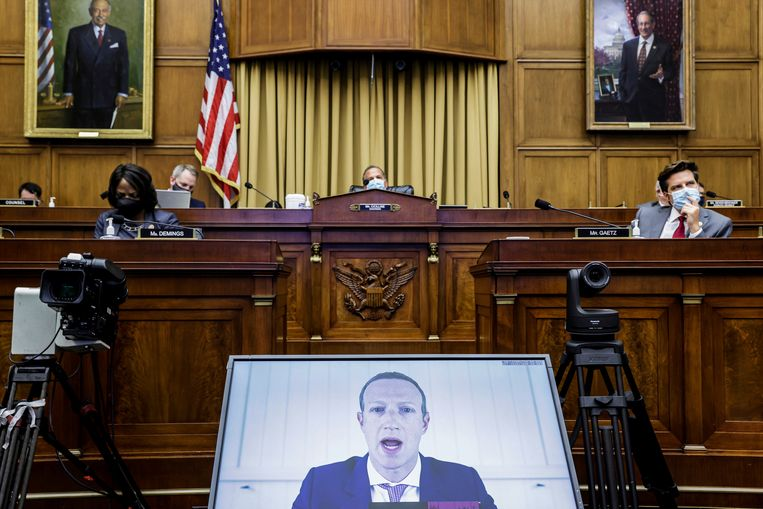 U.S. lower house members want to control the power of big tech companies