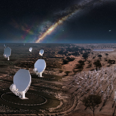 SKA can start construction of mega telescopes