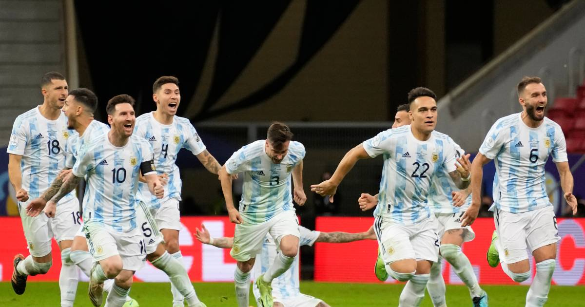 A final dream in Copa America after a big battle between Argentina and Colombia |  sport