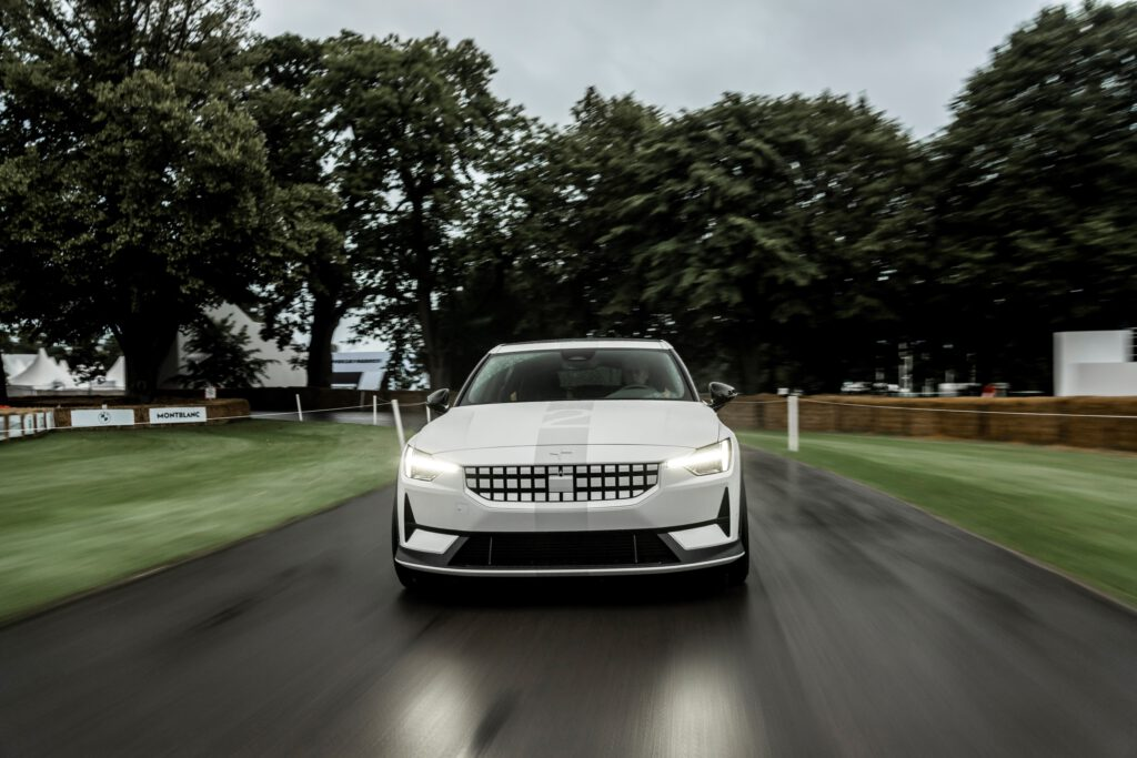 Special Edition Polestar 2 steals the show at the festival