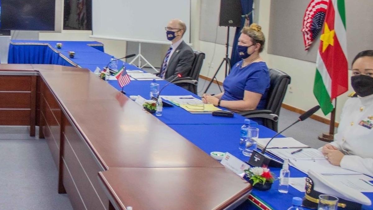 Suriname and the USA Dialogue حوار
